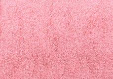 Textura rosada de la toalla Fotos de archivo libres de regalías