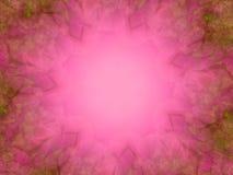 Textura rosada del marco de la foto Stock de ilustración