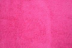 Textura rosada fucsia de la materia textil Foto de archivo