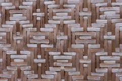 Textura rotan abstrata da cerca Fotografia de Stock Royalty Free