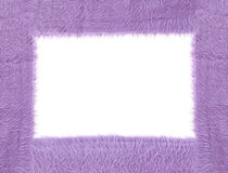 Textura roxa da tela Foto de Stock Royalty Free