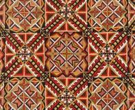 Textura rumana de la artesanía Fotos de archivo