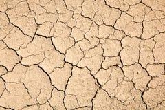 Textura seca del fango Foto de archivo libre de regalías