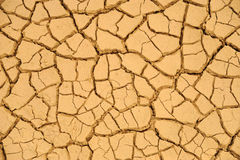 Textura secada del fango Fotos de archivo