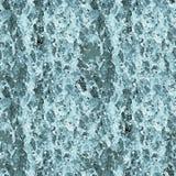 Textura sem emenda - água na cachoeira imagens de stock