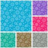 Textura sem emenda abstrata Imagens de Stock Royalty Free