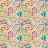 Textura sem emenda abstrata Imagem de Stock