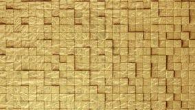 A textura sem emenda abstrata das telhas de vidro cerâmicas plásticas empurradas para trás e envia para fazer o volume 3d Fotografia de Stock