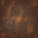 Textura sem emenda abstrata do metal oxidado Fotos de Stock