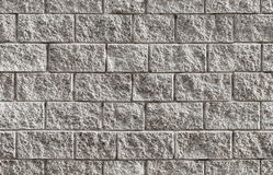 Textura sem emenda cinzenta do fundo da parede de tijolo Imagens de Stock Royalty Free