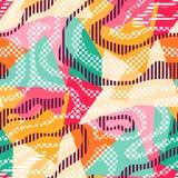 Textura sem emenda colorida dos grafittis Imagens de Stock Royalty Free