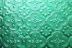 Textura sem emenda colorida Fundo de vidro Formas de vidro florais do sumário do teste padrão da parede da decoração 3D da parede Fotos de Stock