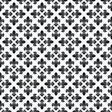 Textura sem emenda com flor de lis Fotos de Stock