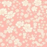 Textura sem emenda com flores diferentes ilustração do vetor