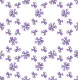 Textura sem emenda com ornamento floral Fotografia de Stock