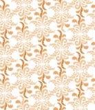 Textura sem emenda com ornamento floral Imagens de Stock Royalty Free
