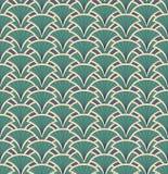 Textura sem emenda com ornamento floral ilustração do vetor