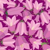Textura sem emenda com tema floral Imagem de Stock