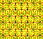 Textura sem emenda com teste padrão de flor Foto de Stock Royalty Free