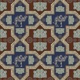 Textura sem emenda com um assunto oriental 24 Foto de Stock Royalty Free