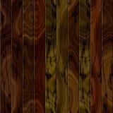 Textura sem emenda da cerca de madeira Ilustração Stock