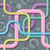 Textura sem emenda da cor - fios do entrelaçamento ilustração royalty free