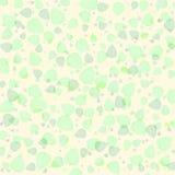 Textura sem emenda da folha verde ilustração royalty free