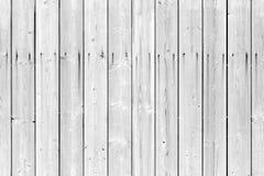 Textura sem emenda da parede de madeira branca Foto de Stock Royalty Free