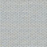 Textura sem emenda da parede de tijolo branca. Foto de Stock