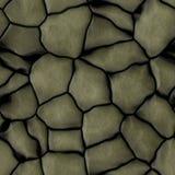 Textura sem emenda da rocha de Yelllow, rochas grandes, fundo da parede ilustração do vetor