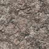 Textura sem emenda da rocha rachada Foto de Stock Royalty Free