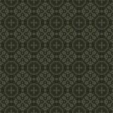 Textura sem emenda da tela com teste padrão do vintage Imagem de Stock Royalty Free
