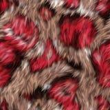 Textura sem emenda da tela da pele Imagens de Stock Royalty Free
