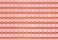 Textura sem emenda da telha de telhado Imagens de Stock Royalty Free