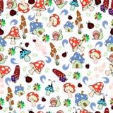 Textura sem emenda das crianças Imagens de Stock Royalty Free