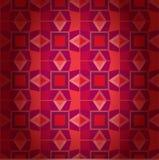 Textura sem emenda das telhas geométricas. Fundo tradicional abstrato ilustração stock