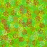 Textura sem emenda de bagas coloridas abstratas ilustração do vetor