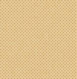 Textura sem emenda de couro perfurada da luz do vetor Fundo perfurado realístico Teste padrão pontilhado do bege Projeto do mater ilustração stock