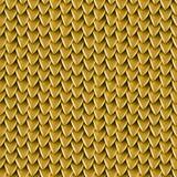 Textura sem emenda de escalas metálicas do dragão Teste padrão da pele do réptil Fotos de Stock