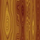 Textura sem emenda de madeira de Brown Ilustração Stock