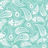 Textura sem emenda de paisley ilustração stock