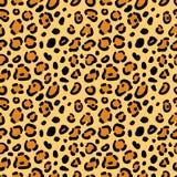 Textura sem emenda de pontos do leopardo ilustração do vetor
