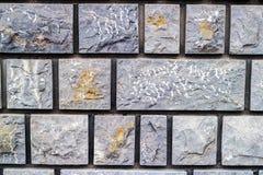 A textura sem emenda de stonewall em cores diferentes fotografia de stock royalty free
