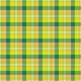 Textura sem emenda de tabela-pano amarelo e verde ilustração stock
