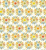Textura sem emenda decorativa brilhante da tela da garatuja   ilustração stock