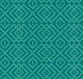 Textura sem emenda decorativa de turquesa ilustração stock