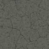 Textura sem emenda do asfalto rachado Fotos de Stock