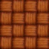 Textura sem emenda do assoalho de madeira foto de stock
