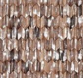 Textura sem emenda do assoalho do parquet natural estreito do larício da viga imagens de stock