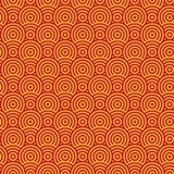 Textura sem emenda do círculo abstrato Imagem de Stock